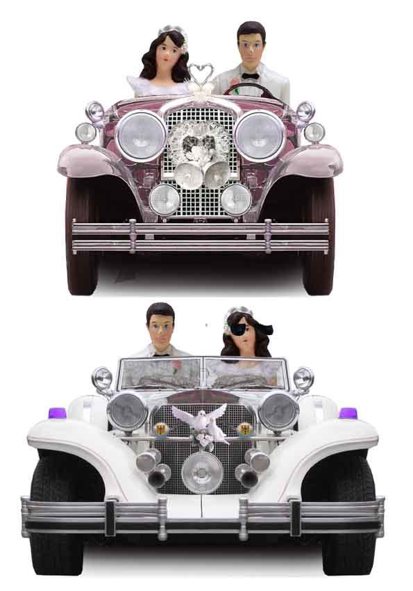 دانلود 2 عدد ماشین عروس لایه باز جهت طراحی